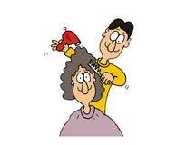Hairdressing Стоковые Изображения