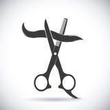 hairdressing illustrazione vettoriale