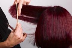 Hairdressing Imagens de Stock Royalty Free