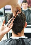 Hairdressing at beauty parlour Royalty Free Stock Photos