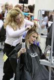 Hairdressing contest Stock Image