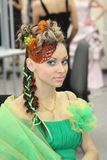 Hairdressing contest Royalty Free Stock Photos