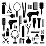Hairdressing equipment Stock Image