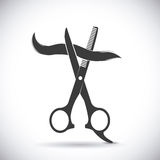Hairdressing. Icon design, vector illustration eps10 graphic