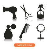 Hairdressing. Icon design, vector illustration eps10 graphic royalty free illustration