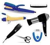 Hairdressing kit Stock Image