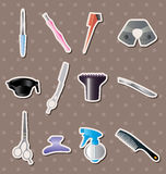 Hairdressing KIT stickers Stock Photo