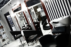 Hairdressing salon Stock Photo