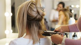 Hairdressing services stock photos