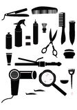Hairdressing Supplies Royalty Free Stock Photo
