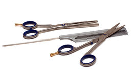 Hairdressing tools Royalty Free Stock Image