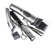 Hairdressing tools Stock Images