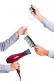 Hairdressing tools Stock Image