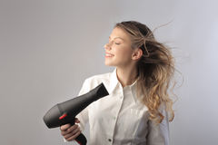 Hairdryer Royalty Free Stock Image