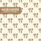 hairdryer Estilo de la vendimia Foto de archivo libre de regalías