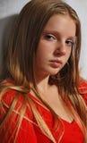 haired long portrait young στοκ εικόνες με δικαίωμα ελεύθερης χρήσης