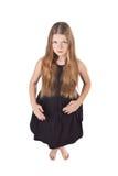haired longstanding för flicka arkivfoton