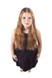 haired longstanding för flicka royaltyfri foto