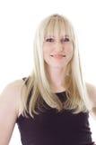 Haired meisje van de blonde Royalty-vrije Stock Afbeelding