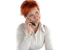 haired röd kvinna arkivfoton