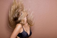 Hairflip Stock Photography