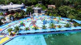 Hairos Waterpark Medan Стоковое фото RF
