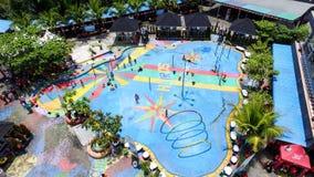 Hairos Waterpark Medan fotografia de stock royalty free