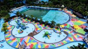 Hairos Waterpark Medan imagem de stock
