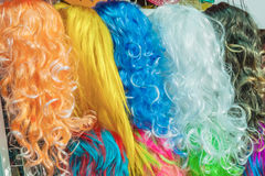 Hairpiece colorful Royalty Free Stock Photo