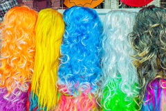 Hairpiece colorful Royalty Free Stock Photos