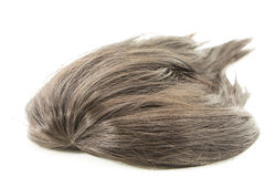 Hairpiece on white background Royalty Free Stock Image