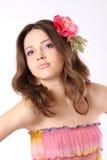 hairpin τριχώματος κοριτσιών λ&omicro στοκ εικόνες με δικαίωμα ελεύθερης χρήσης