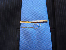 Hairpin золота для связи Стоковые Фото