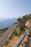 Hairpin bend Royalty Free Stock Photography