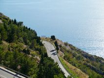 Hairpin bends Royalty Free Stock Photos