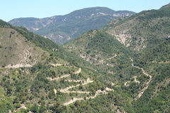Hairpin Bends. Stock Image