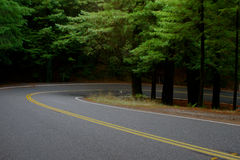 Hairpin Turn Royalty Free Stock Photography