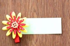 Hairpins красного смешивания желтеют бумагу картины и примечания Стоковые Изображения RF