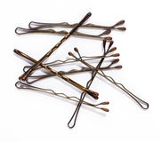 Hairpins Royalty Free Stock Photos