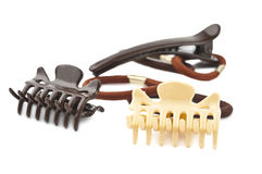 Hairpins Isolated Stock Photos
