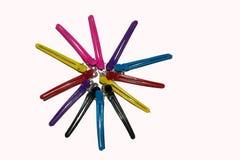 Hairpins kobiety Zdjęcie Royalty Free