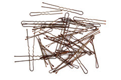Hairpins Royalty Free Stock Photo
