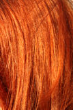 Hairs. Red-hair woman. Close-up. Could be used as some texture or background Royalty Free Stock Images
