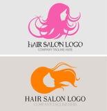 Hairs Salon Logo Royalty Free Stock Photos
