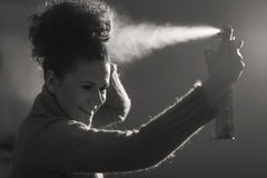 Hairspray Stock Photography