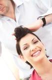 hairstlye obraz royalty free