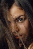 hairstyle θυελλώδης Στοκ Φωτογραφίες