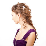 Hairstyle. Stock Photo