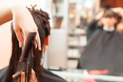 hairstyle Imágenes de archivo libres de regalías