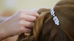hairstyle stock videobeelden